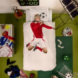 113431-1 SNURK Sängkläder - Fotbollsspelare