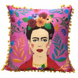 113433 Talking Tables Prydnadskudde Boho Rosa Tassel Frida Kahlo™