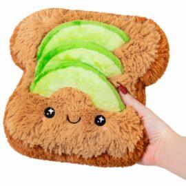 113439 Mini Squishable Comfort Food Avocado Toast - 18 cm