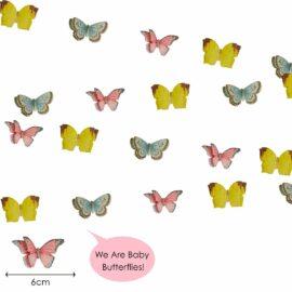 113447-2 Talking Tables Girlang Mini Fjärilar Liten Älva - Truly Fairy