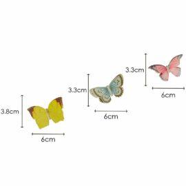 113447 Talking Tables Girlang Mini Fjärilar Liten Älva - Truly Fairy