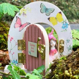 113450 Talking Tables Dörr av Trä Liten Älva - Truly Fairy