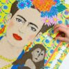 113453 Talking Tables Pussel Frida Kahlo Pick Me Up Jigsaw Puzzle 1000 Pieces