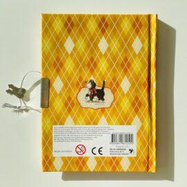 113455-3 Dagbok Katt med Lås