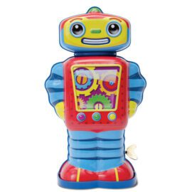 113456 Schylling Cosmo Mekanisk Retro-Robot i Plåt