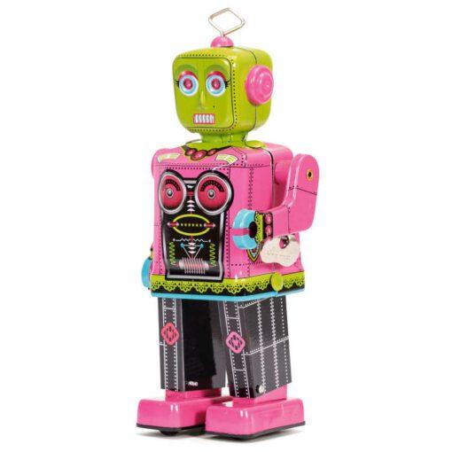 113457-1 Schylling Roberta Mekanisk Retro-Robot i Plåt