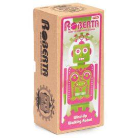 113457-2 Schylling Roberta Mekanisk Retro-Robot i Plåt
