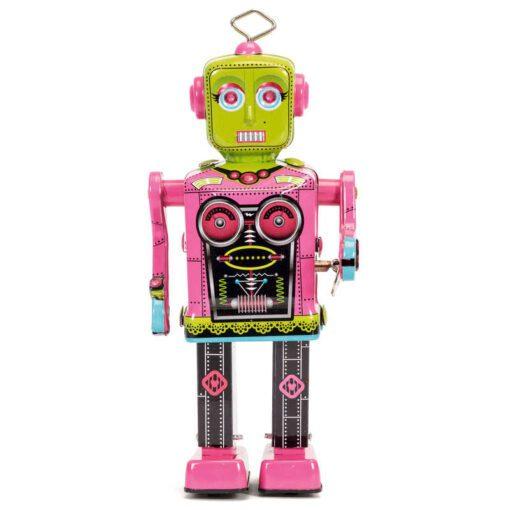 113457 Schylling Roberta Mekanisk Retro-Robot i Plåt