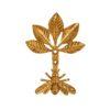 113461 Sass & Belle Väggkrok och Gardinomtag Guld Bi i Vintage Stil1