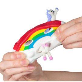 113466 Fidget Toy Stretchy Unicorn Regnbåge1