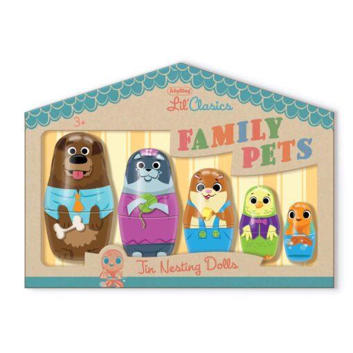 113469 Schylling Rysk Docka Lil' Classics Nesting Pets2