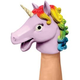 113470 Schylling Handdocka Unicorn Hand Puppet