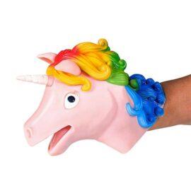113470 Schylling Handdocka Unicorn Hand Puppet1
