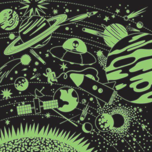 113491 Mudpuppy Pussel Glow-in-the-dark Rymden 500 bitar2