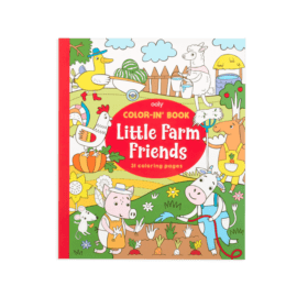 113540 OOLY Målarbok Little Farm Animals