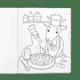113540 OOLY Målarbok Little Farm Animals4