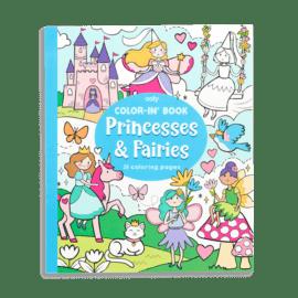 113541 OOLY Målarbok Princess & Fairies
