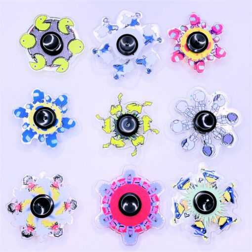 Animated Fidget Spinner111