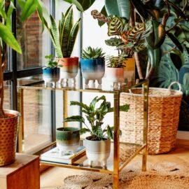 Sass & Belle Kruka Stengods Mojave Ombré-effekt - Bohemian Home