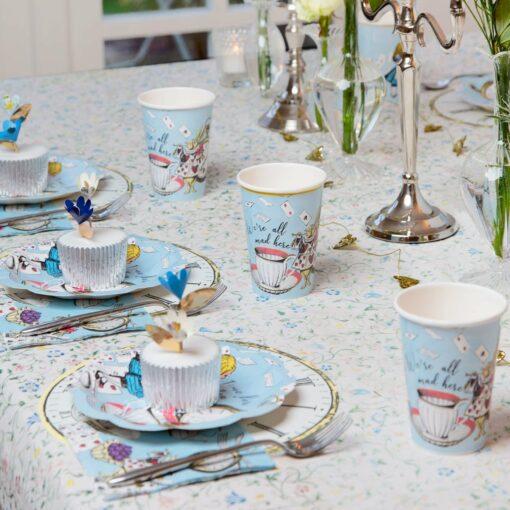 Talking Tables Alice i Underlandet Blå - Truly Alice