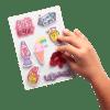 113543 OOLY Klistermärken Girl Boss Sticker Stash Set