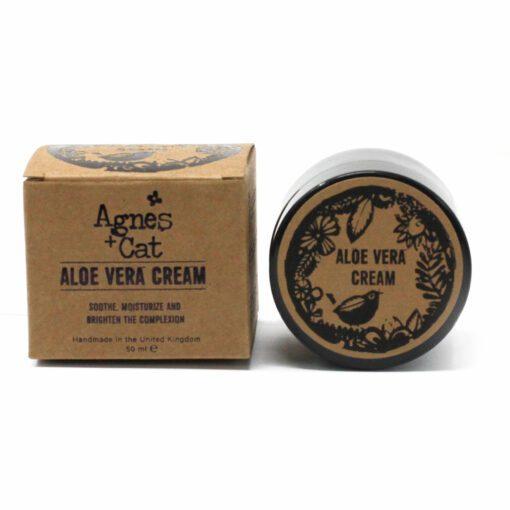 113562 Agnes+Cat Vegansk Ansiktskräm Aloe Vera 50 ml1