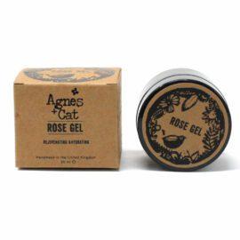 113564 Agnes+Cat Vegansk Ansiktsgel Ros 50 ml