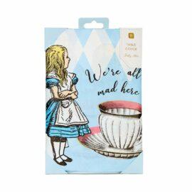 Talking Tables Bordsduk Alice i Underlandet Blå – Truly Alice