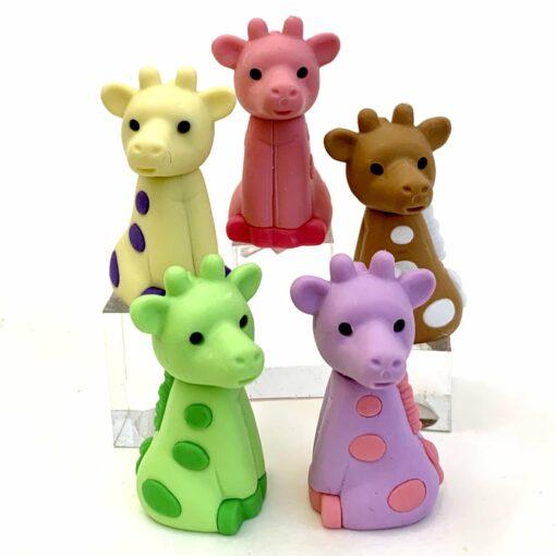 IWAKO Japanskt Pusselsudd Giraff Set2