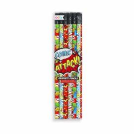 113581 OOLY Grafitpennor Comic Attack - Set om 12