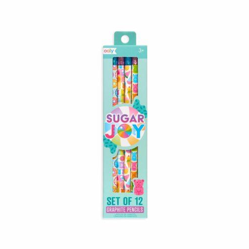 113585 OOLY Grafitpennor Sugar Joy - Set om 12