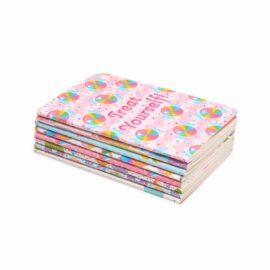 113586 OOLY Anteckningsbok Pocket Pal Journals Sugar Joy - Set om 8