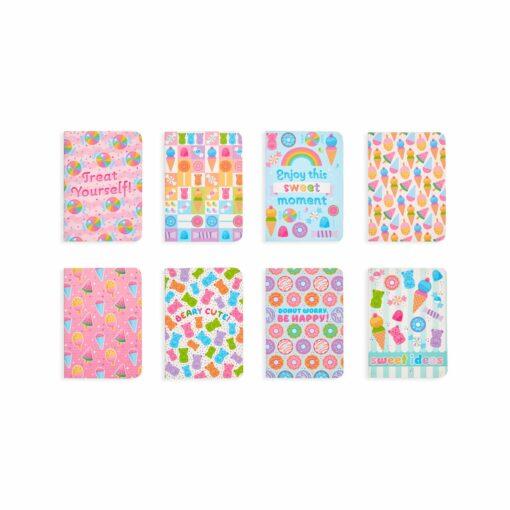 113586 OOLY Anteckningsbok Pocket Pal Journals Sugar Joy - Set om 83