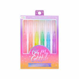 113588 OOLY Överstrykningspennor, Highlighters Oh My Glitter Neon - Set om 6