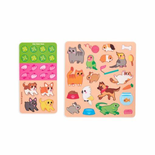 113591 OOLY Aktivitets Kit med Flyttbara Klistermärken Play Again Mini Pet Play Land1