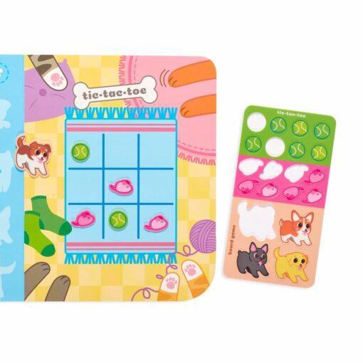 113591 OOLY Aktivitets Kit med Flyttbara Klistermärken Play Again Mini Pet Play Land2