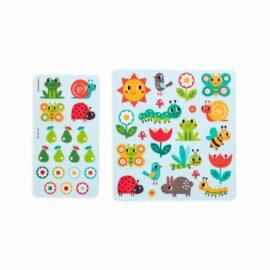 113592 OOLY Aktivitets Kit med Flyttbara Klistermärken Play Again Mini Sunshine Garden3