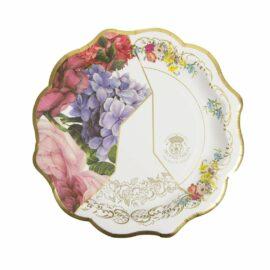 113630 Talking Tables Papperstallrikar Vintage Kintsugi 20 cm 12 st - Truly Scrumptious