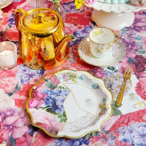 113633 Talking Tables Bordsduk Floral Vintage Kintsugi – Truly Scrumptious