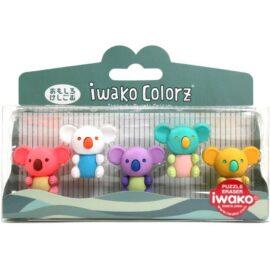 IWAKO Japanskt Pusselsudd Koala Set