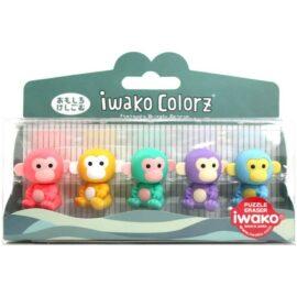 IWAKO Japanskt Pusselsudd Monkey Set