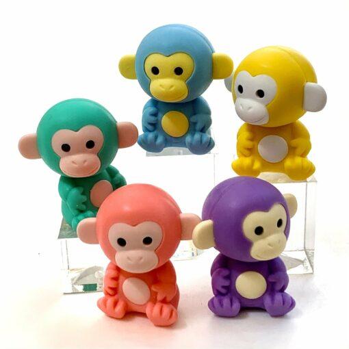 IWAKO Japanskt Pusselsudd Monkey Set13