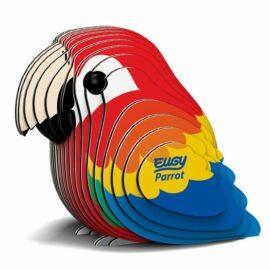 EUGY Pussel i 3D Papegoja