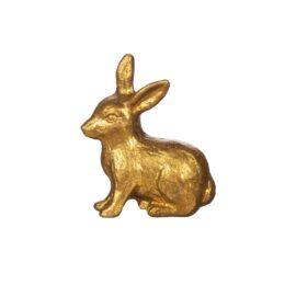 Sass & Belle Knopp Guld Kanin i Vintage Stil