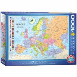 EuroGraphics Pussel Map of Europe 1000 bitar