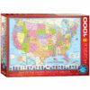 EuroGraphics Pussel Map of the United States of America 1000 bitar