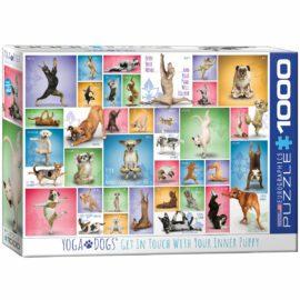 EuroGraphics Pussel Yoga Dogs 1000 bitar