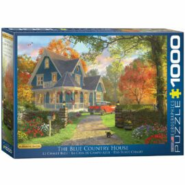 EuroGraphics Pussel The Blue Country House 1000 bitar
