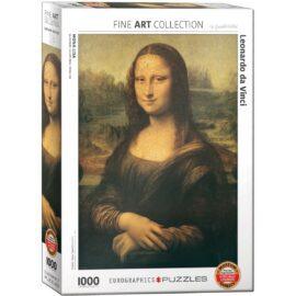EuroGraphics Fine Art Pussel Mona Lisa 1000 bitar
