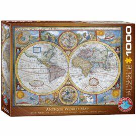 EuroGraphics Antique World Map 1000 bitar
